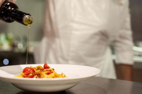 Produits en provenance d'Italie au restaurant Eataly sur Msc Croisières