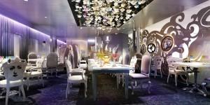 Salle du restaurant Wonderland